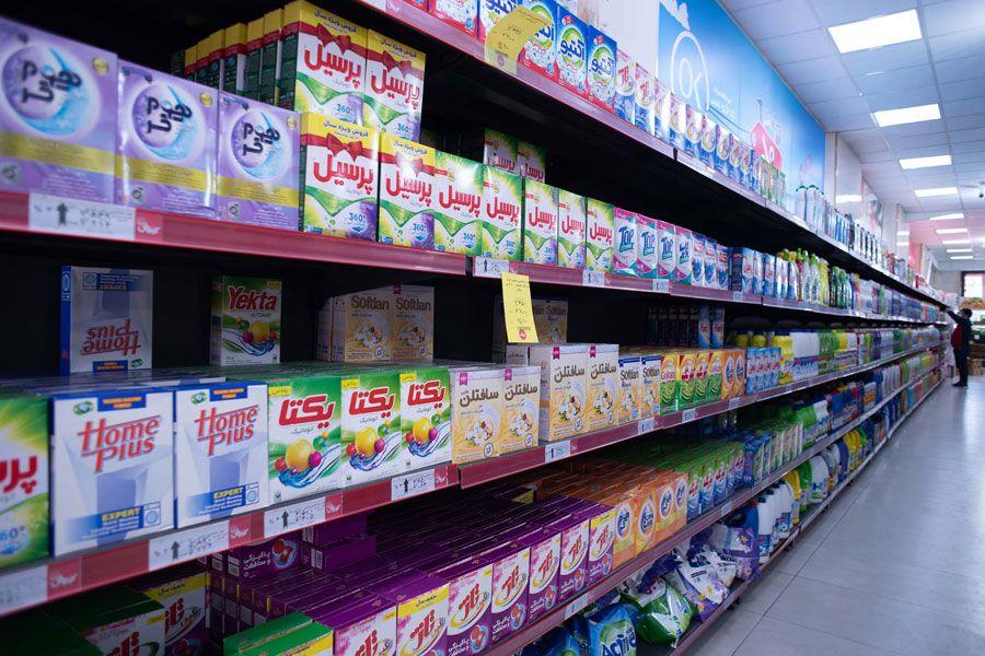 قفسه یکطرفه سوپرمارکتی