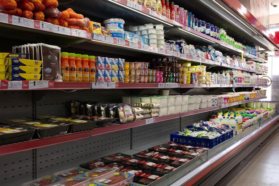 یخچال فریزر فروشگاهی