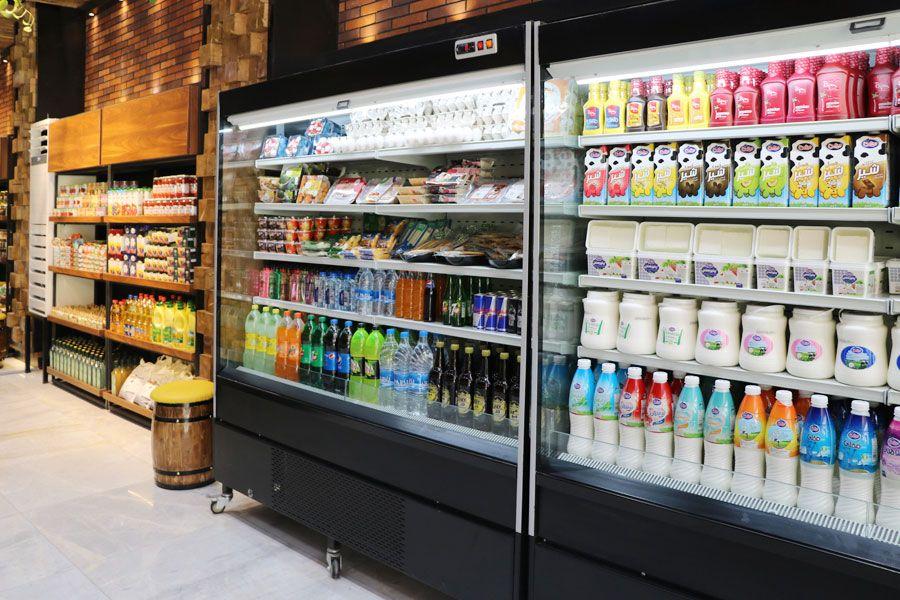 یخچال پرده هوا فروشگاهی