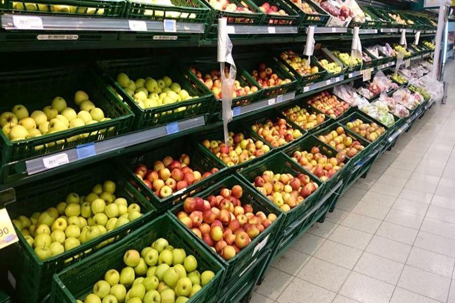 قفسه میوه و سبزیجات