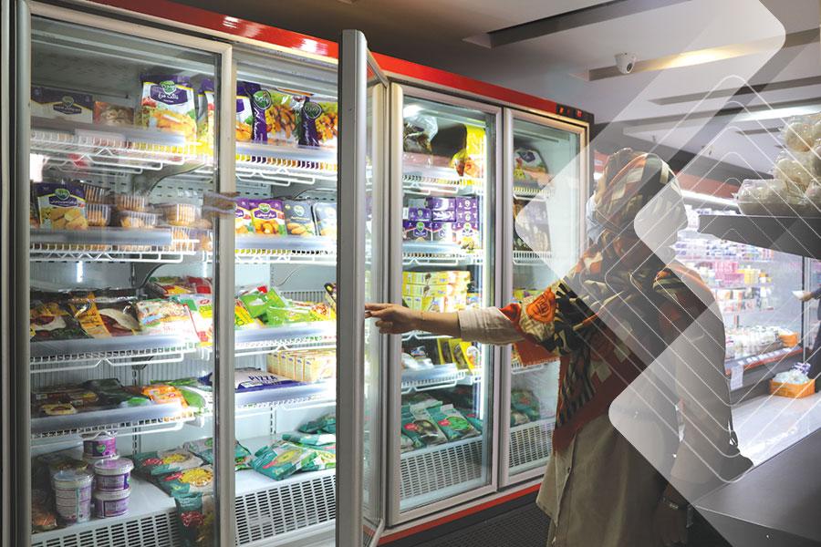 انواع یخچال فروشگاهی